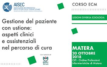 Dal 20-10-2018 al 20-10-2018Basilicata / Matera
